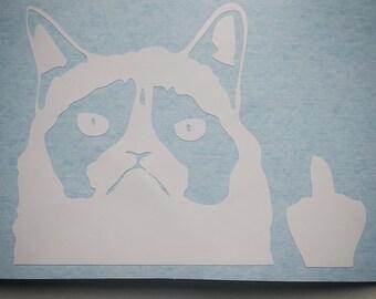 Cat - vinyl - wall decal