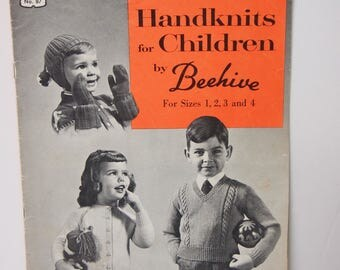 Handknits for Children by Beehive Book 87