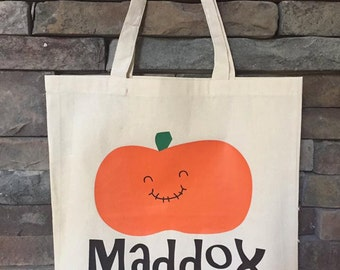 Personalized Trick or Treat Bag Halloween Candy Bag