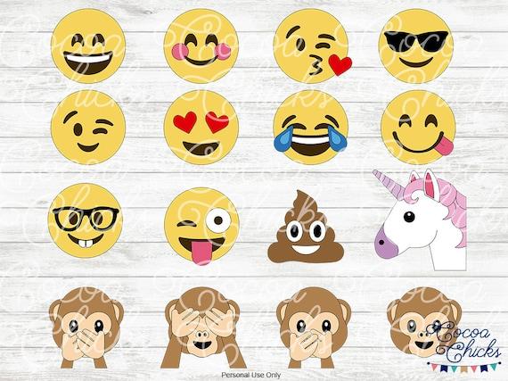 Emoji Svg Poo Emoji Unicorn Emoji Kiss Emoji Svg