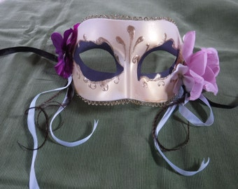 Hand-painted Venetian Mask