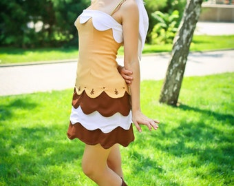Tiramisu - Tiramisu cake humanization - cosplay costume from the art of the famous artist.