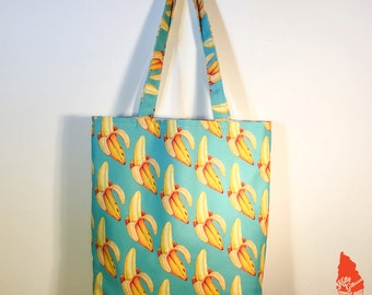 Banana Pattern Tote Bag