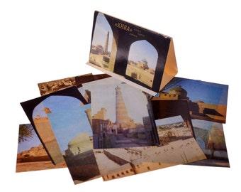 Lot 1, Quantity 16 Vintage Postcards Set USSR Collection Khiva Uzbekistan 1981