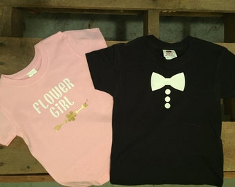 Flower Girl / Ring Security T-Shirts