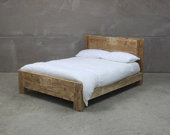 Reclaimed Wood Bed (Avalon)