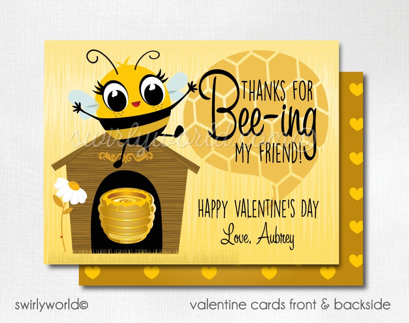Bee my valentine – Bee My Valentine Card