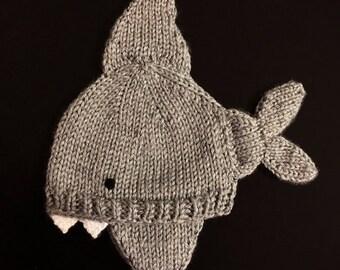 Baby Shark Bite Hat