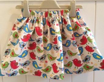 Traditional Pretty Girls Skirt with Tweety Bird Print