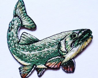 fish - IRON ON APPLIQUE