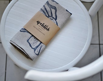 Hand Printed Kitchen/Tea Towel
