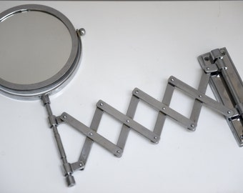 SOLD******British made Mid century Modern Vintage double sided Bathroom mirror *****SOLD
