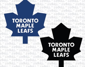 Toronto Maple Leafs Svg Files, Toronto Maple Leafs Png, Toronto Maple Leafs PDF,Toronto Maple Leafs EPS, Maple Leafs DXF Instant Download