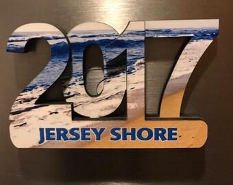 2017 Jersey Shore Refrigerator Magnet
