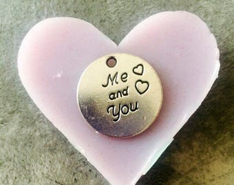 """Me and you """"super shiny heart mold"""