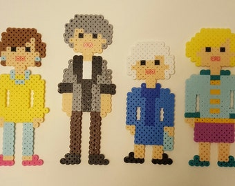 Golden Girls Perler Magnet Set