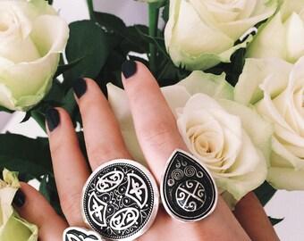 Handmade Ring from Kazakhstan