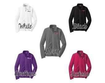 Ladies plexus micro fleece jacket, plexus swag, plexus jacket