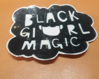 SALE! Vinyl Tumblr Inspired Black Girl Magic, Afro, Natural Hair Stickers SALE: (In honor of International Women's Day) + Free Shipping!
