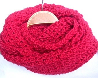 Chunky Cowl - infinity scarf