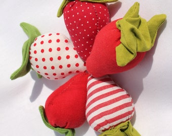 Sweet strawberries decoration