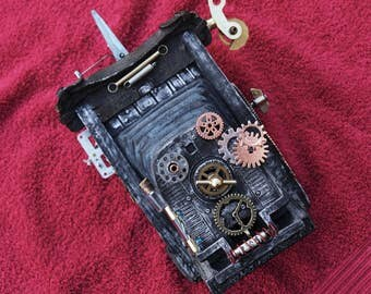 Steampunk Bellows Camera