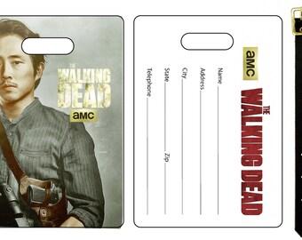 The Walking Dead Glenn Rhee Bag Luggage Tag