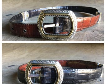 Vintage Reversable Belt