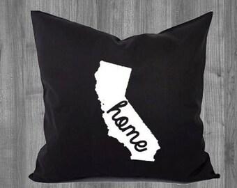 California Home, California Pride Pillow Case 16x16 or 18x18
