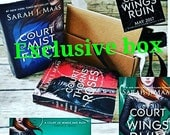 Exclusive box based off Sarah j MAAS books Acowar and acomaf