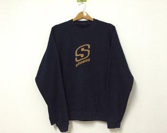 Stussy Sweatshirt Big Logo Spell Out Large
