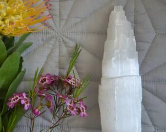 Selenite crystal tower 16cm