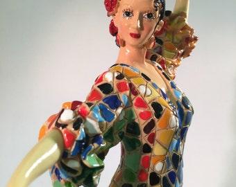 Doll Spanish style Gaudí