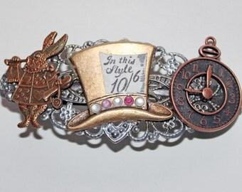 Alice in Wonderland Barrette