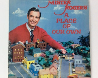 Vintage Kids Record / Vintage Vinyl LP / Mister Rogers Neighborhood A Place Of Our Own Record / Mister Rogers Neighborhood Records MRN-8104