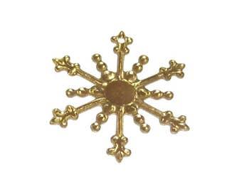 Snowflake Charms x 20