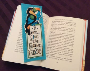 I Can You Can Toucan Read Bookmark