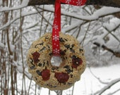 Set of Bird Seed Wreaths