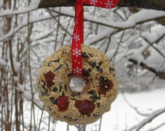 Set of 3 Bird Seed Wreaths