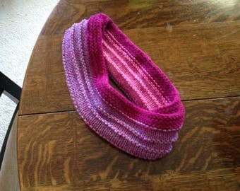 Knitted Rib Scarf