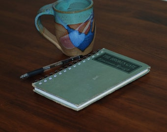 Upcycled 'Broken' Journal