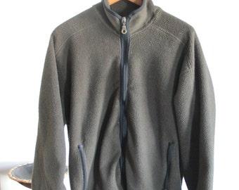Men's Woolrich fleece size large in hunter green