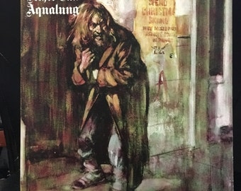 ON SALE Vintage 1971 Jethro Tull Aqualung Vinyl Record Good Condition
