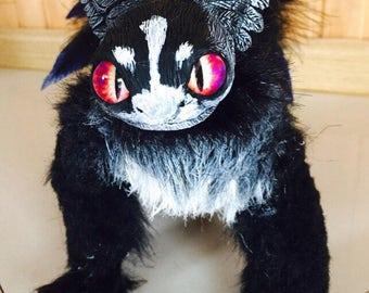 Black fluffy fury Boomer