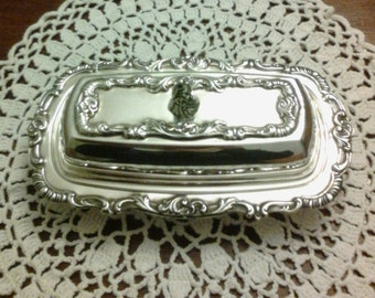 Wallace Silver Butter Dish