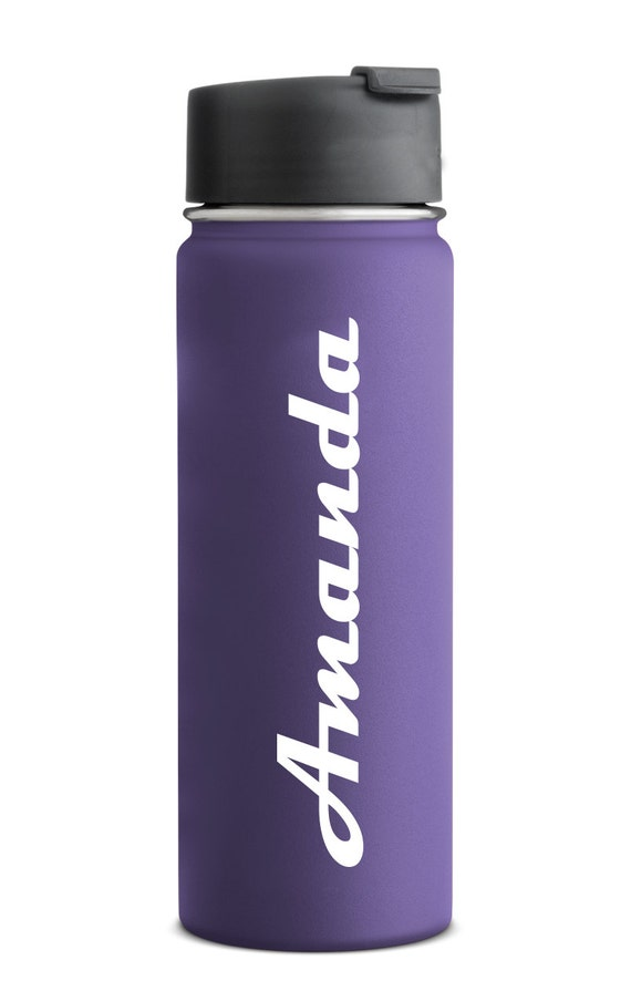 Sticker hydroflask decal hydroflask water bottle vinyl decal for Dishwasher safe vinyl lettering