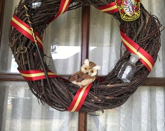 Harry Potter wreath, Gryffindor wreath
