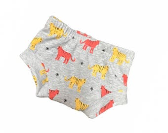 Tiger Bummies Shorties Diapercovers Infant-24 months