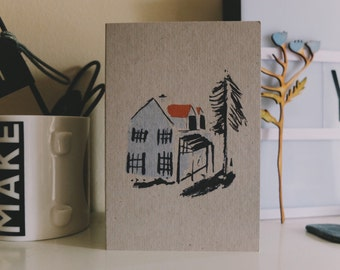 Pack of 6 House Cards