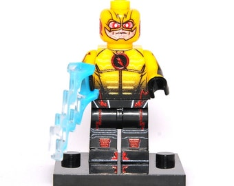Reverse-Flash Custom Minifigure Legends of Tomorrow Flash Minifig Comics Compatible With Lego Super Hero Blocks Bricks Building Toys
